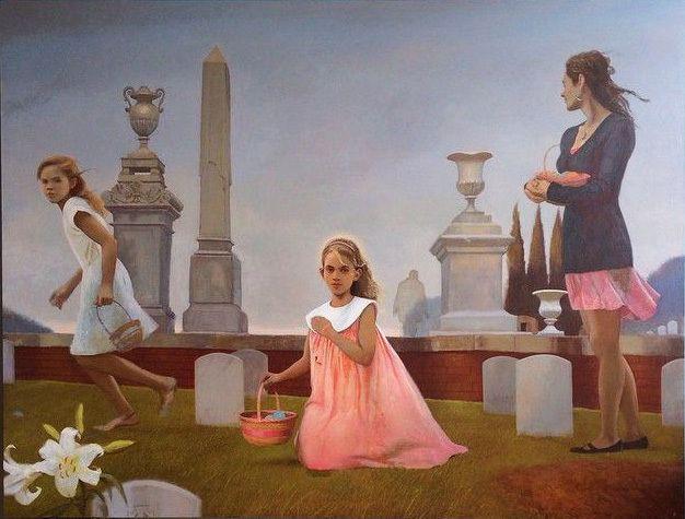 Bo Bartlett, <i>Easter</i>, &nbsp;2015, &nbsp;Oil on Linen, 88 x 120