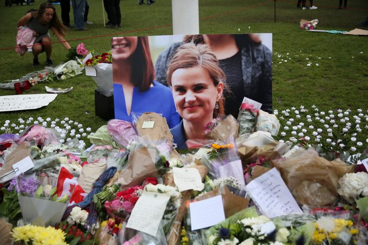 """British lawmaker Jo Cox was killed on the streets of northern England on Thursday. The man charged with her murder gave his name in court as """"Death to traitors, freedom for Britain."""""""