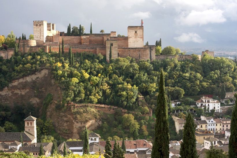 Alhambra, viewed fromSt. Nicholas Square
