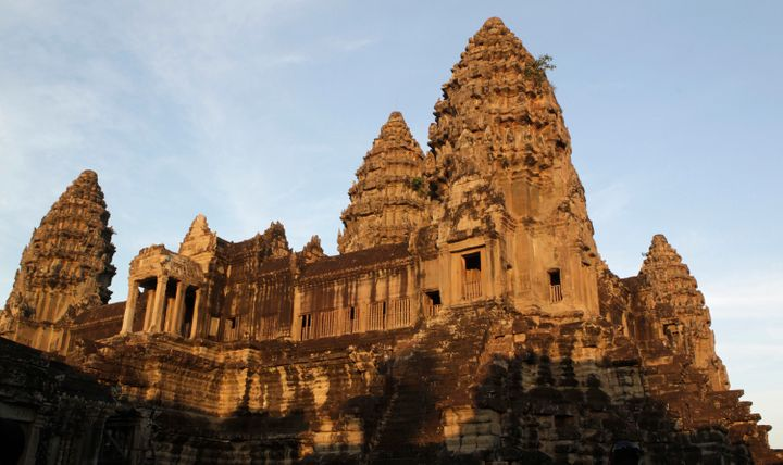 Researchers used ground-penetrating lasers to scan the earth surrounding the ancient temple complex.