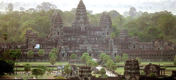 Ancient Cities Discovered Beneath Jungle Surrounding Angkor Wat Temples