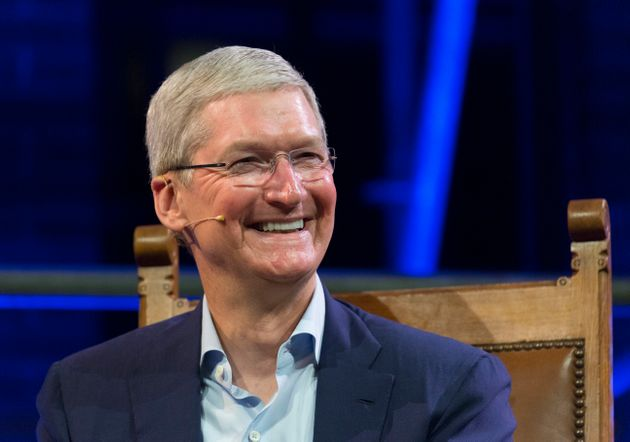 Apple CEO Tim Cook apparently does not want his company to be associated with Donald