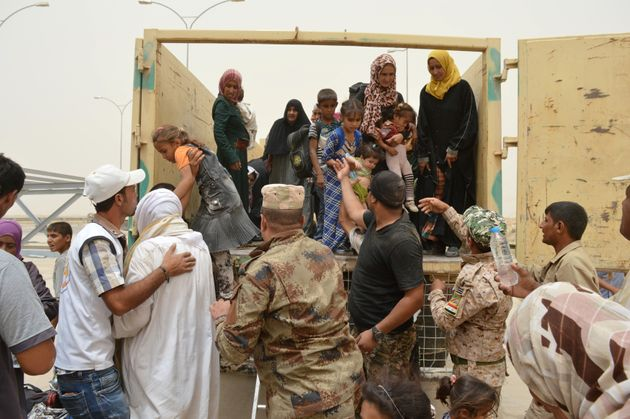 Iraqi Camps Swell As Civilians Flee Fighting In