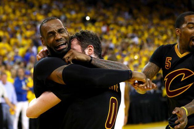 LeBron Jameswon the 2016 NBA Finals MVP,