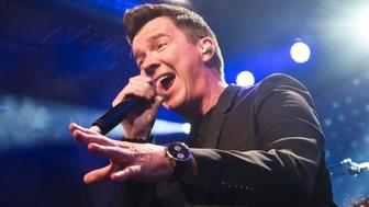 BERLIN, GERMANY - MAY 18: British singer Rick Astley performs live during a concert at the Schwuz on May 18, 2016 in Berlin, Germany. (Photo by Frank Hoensch/Redferns)