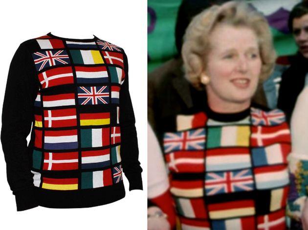 Margaret Thatcher's Pro-Europe Jumper From 1975 Referendum Has Been