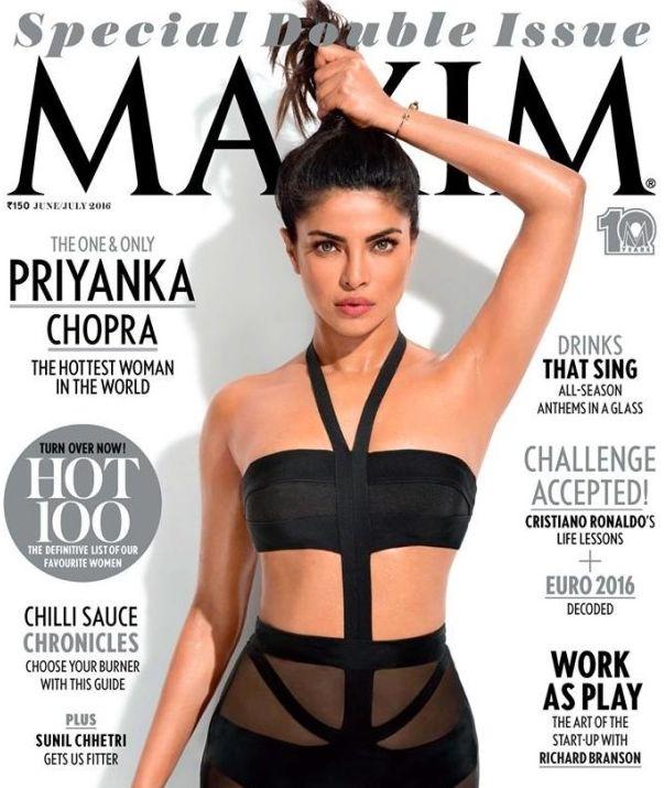 Priyanka Chopra's Maxim Cover Slammed For 'Unrealistic' Armpit