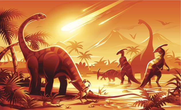 asteroid dinosaur mammals - photo #10