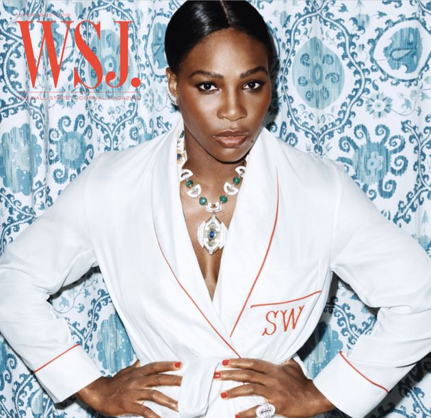 Serena Williams Gives Us Serious Swimsuit Goals In Sizzling WSJ Magazine Cover