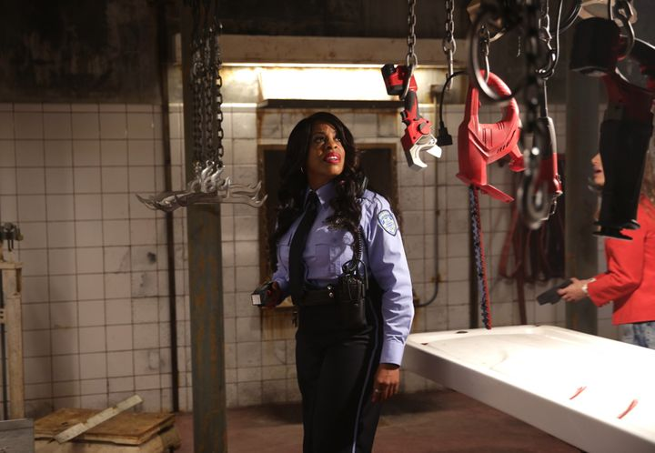 "Niecy Nash stars in a scene from ""Scream Queens."""
