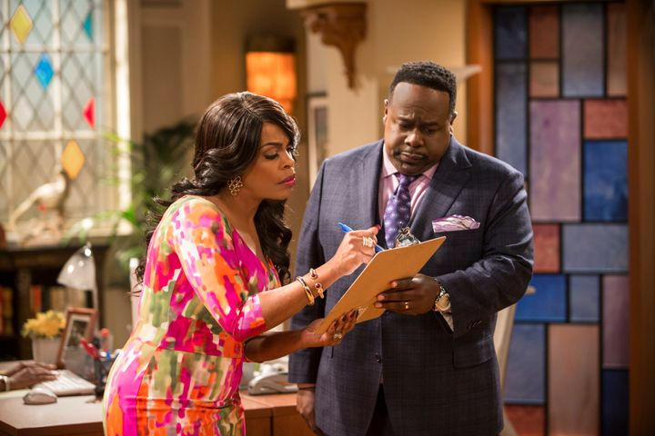 """Niecy Nash and Cedric the Entertainer star in a scene from """"The Soul Man."""""""