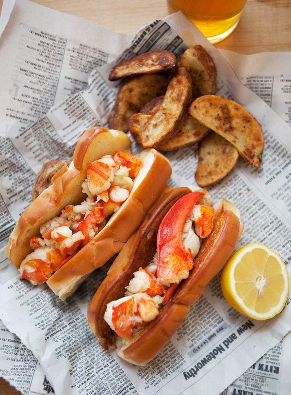 """<strong>Get the <a href=""""http://abetterhappierstsebastian.com/journal/2013/9/16/brown-butter-lobster-rolls"""" target=""""_blank"""">B"""