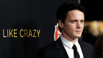 "Cast member Anton Yelchin poses at the premiere of ""Like Crazy"" at the Egyptian theatre in Hollywood, California October 25, 2011. The movie opens in the U.S. on October 28. REUTERS/Mario Anzuoni (UNITED STATES - Tags: ENTERTAINMENT PORTRAIT)"