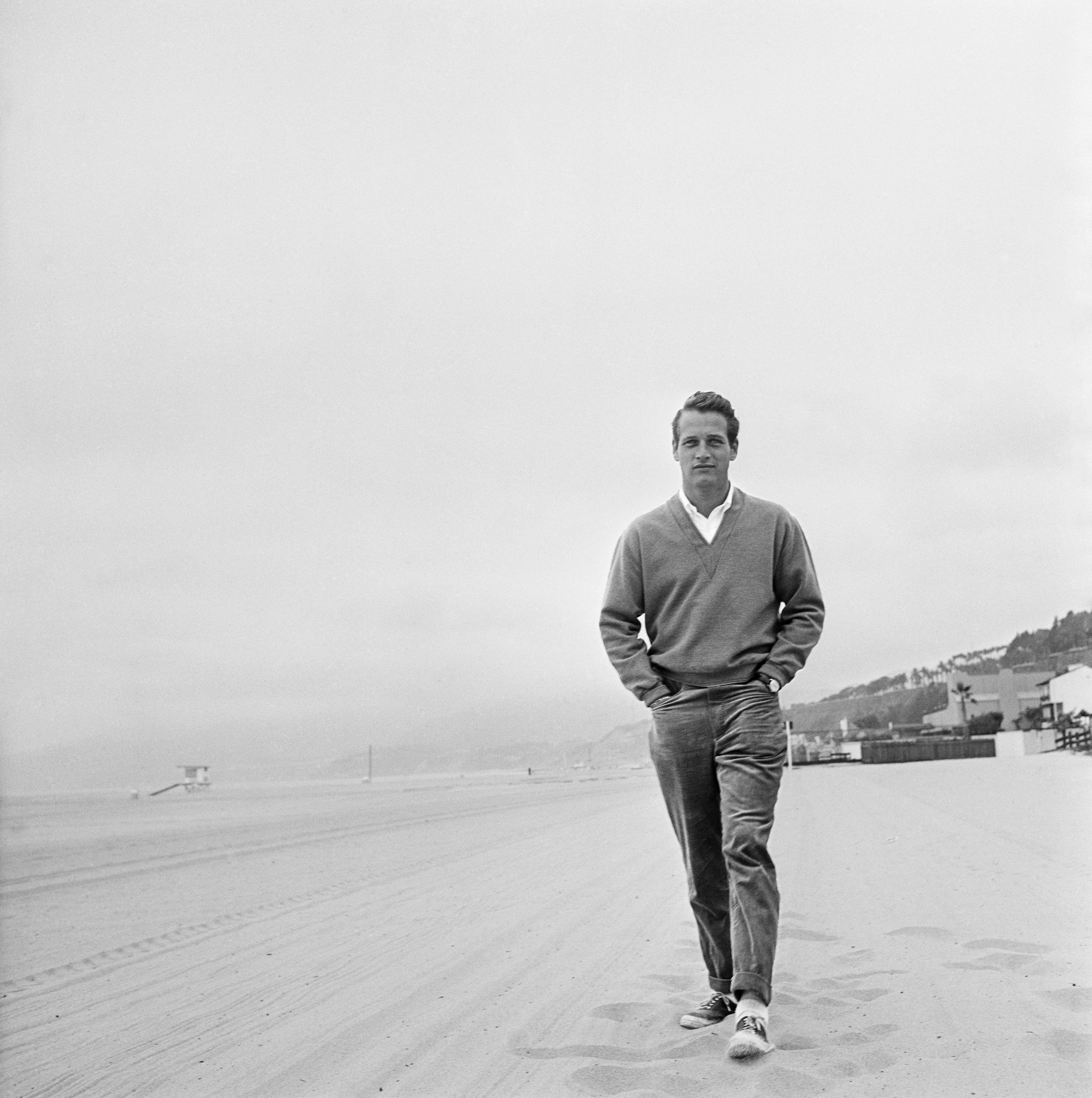 Paul Newman, master of the chinos,