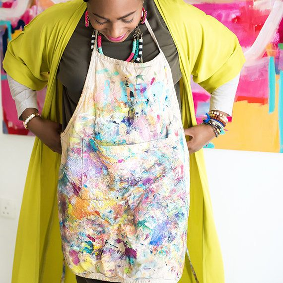 Amira Rahim is an abstract artist whoplays with colors to createartwork that is full of energy.