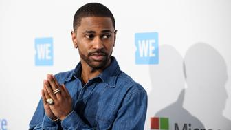 INGLEWOOD, CALIFORNIA - APRIL 07:  Multi-platinum, Grammy-nominated hip hop recording artist Big Sean attends WE Day California 2016 at The Forum on April 7, 2016 in Inglewood, California.  (Photo by Emma McIntyre/Getty Images)