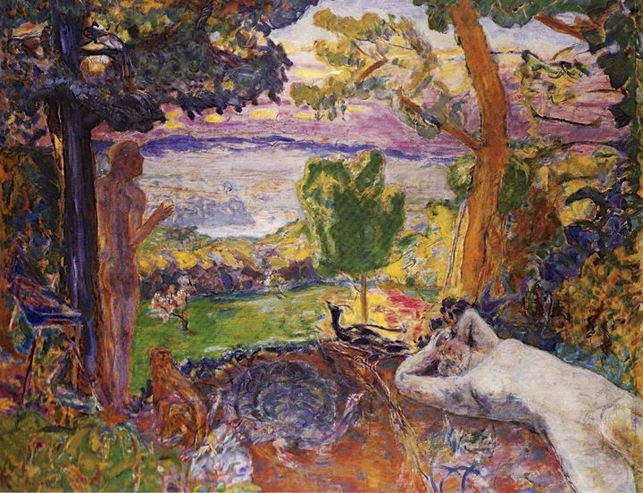 Pierre Bonnard, Earthly Paradise, 1916–1920. The Art Institute of Chicago. (Used with permission. Copyright 2008 Arti