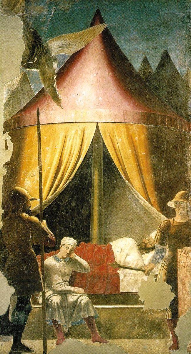 FIGURE 1-6. Piero della Francesca, Dream of Constantine, ca. 1452. San Fran-cesco, Arezzo, Italy.