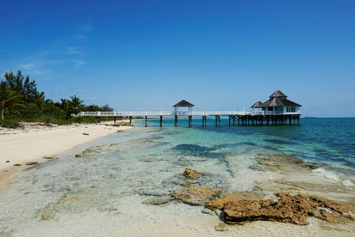 "<a href=""http://www.kamalame.com/"" target=""_blank"">Kamalame Cay</a> features the third largest barrier reef and the only overwater spa in the Bahamas."