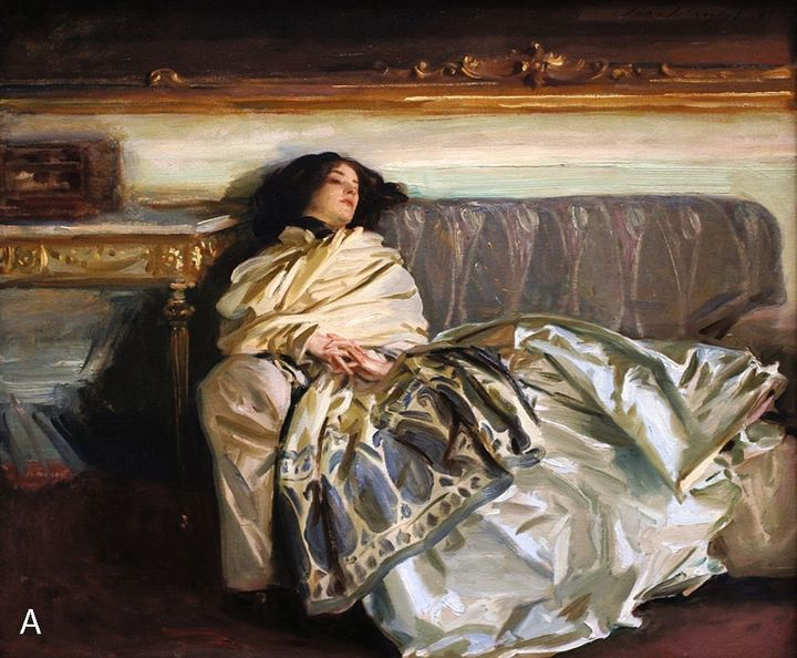 FIGURE 1-11. John Singer Sargent, Repose (Nonchaloire), 1911. National Gallery of Art, Washington, DC