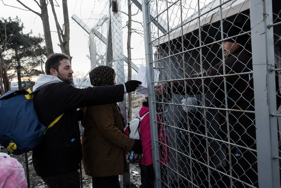 "Hundreds of thousands of people reach the ""Beautiful Gate,"" as they often call the wired border door on the Greek"