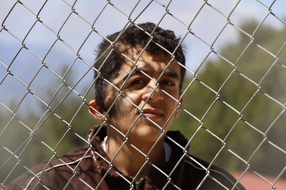 Ibrahim left Syria in the hope of finding the medical treatment he needs. He is detained at the Samos hotspot center.