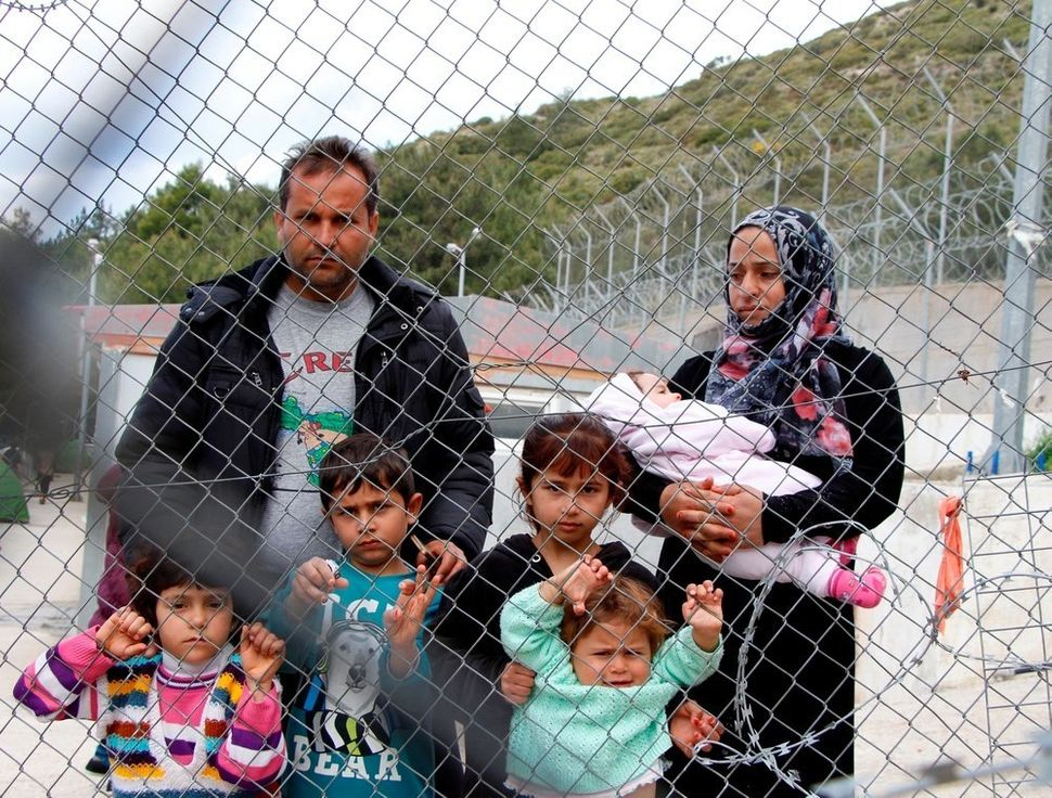 After the implementation of the EU-Turkey deal, refugees who reach the Greek islands are now sent to detention centers,