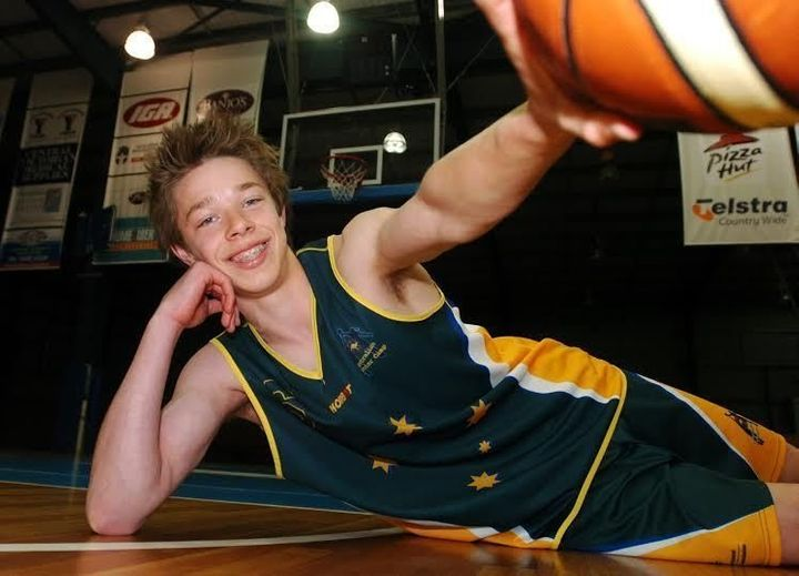 Delly in high school, before he could get into nightclubs.<i></i>