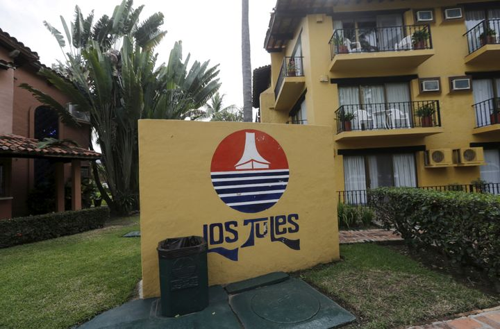 The mother and son were located at this hotel in the Pacific beach resort of Puerto Vallarta, Mexico after video surfaced of