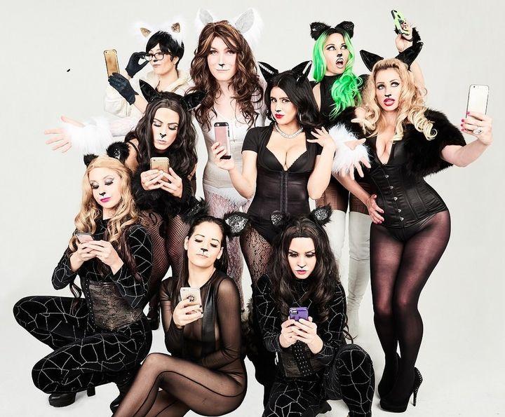 "The cast of ""Katdashians! The Musical!"""