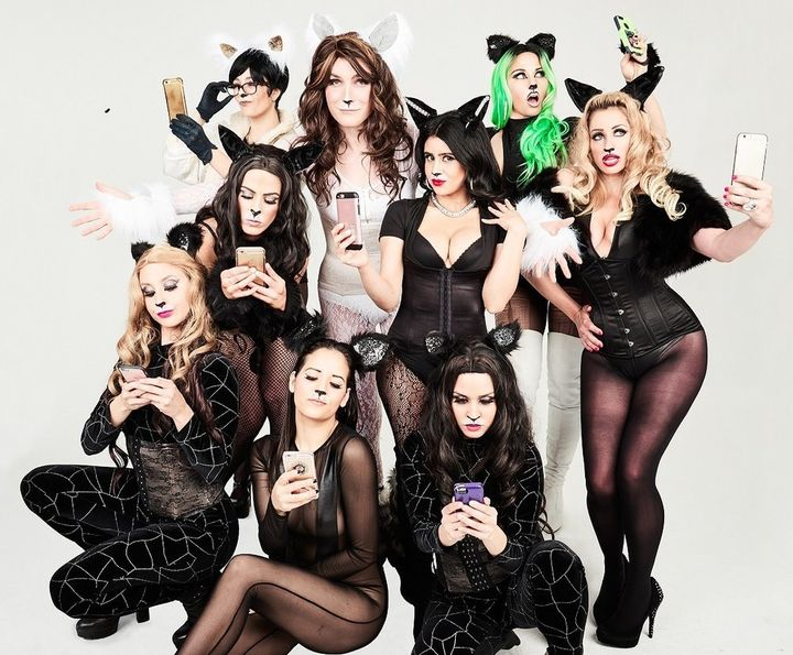 "The cast of ""Katdashians! The Musical!"""