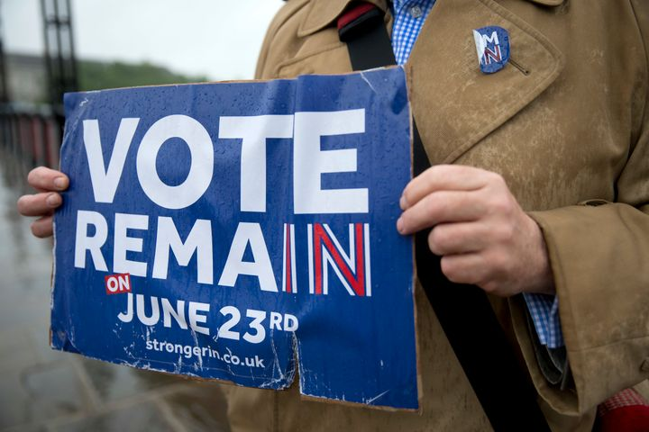 """Remain"" proponents like British Prime Minister David Cameron fear that a departure from the EU would be irreversib"