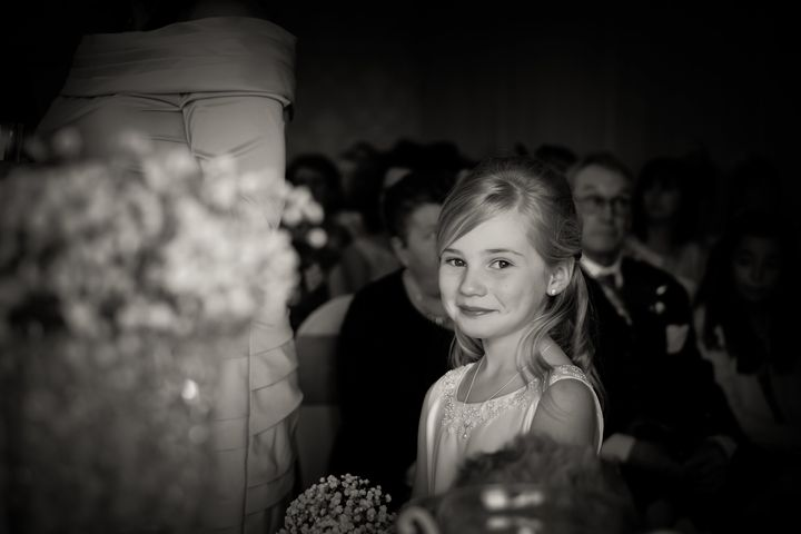 A photo taken by Regina at her first wedding assignment.
