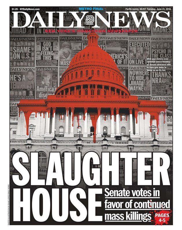 US Senate Blocks Gun Controls That Would Stop Suspected Terrorists Buying