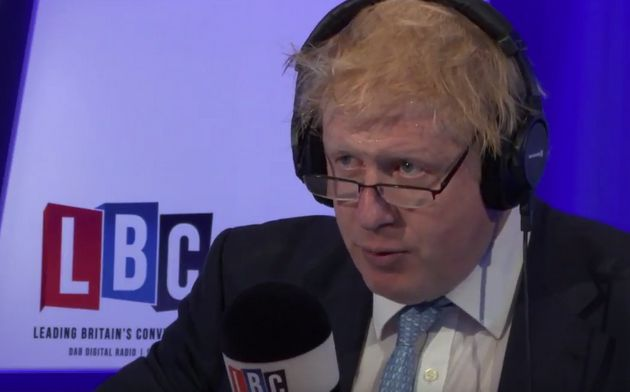 Boris Johnson on LBC: