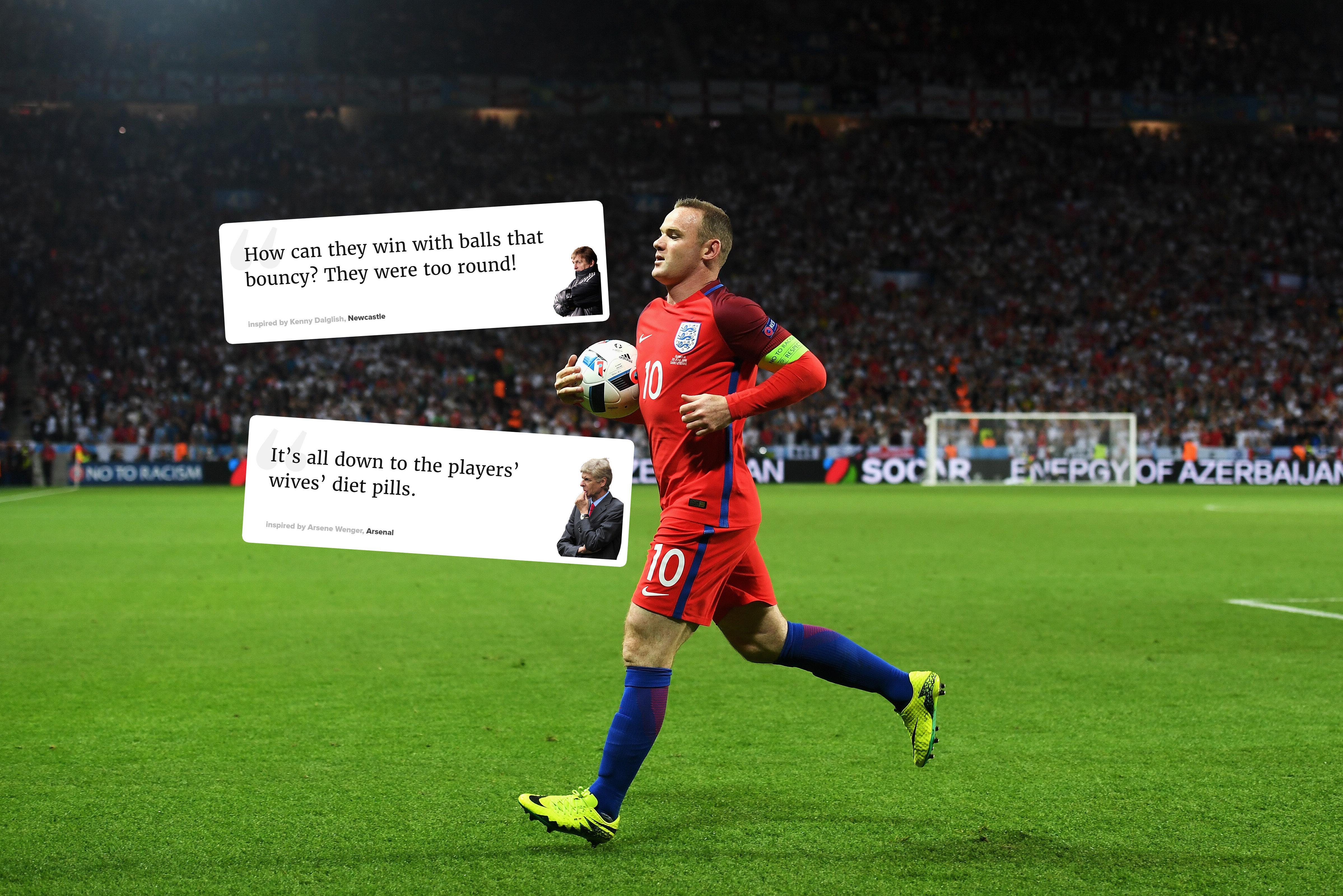 England Euros 2016 Excuse