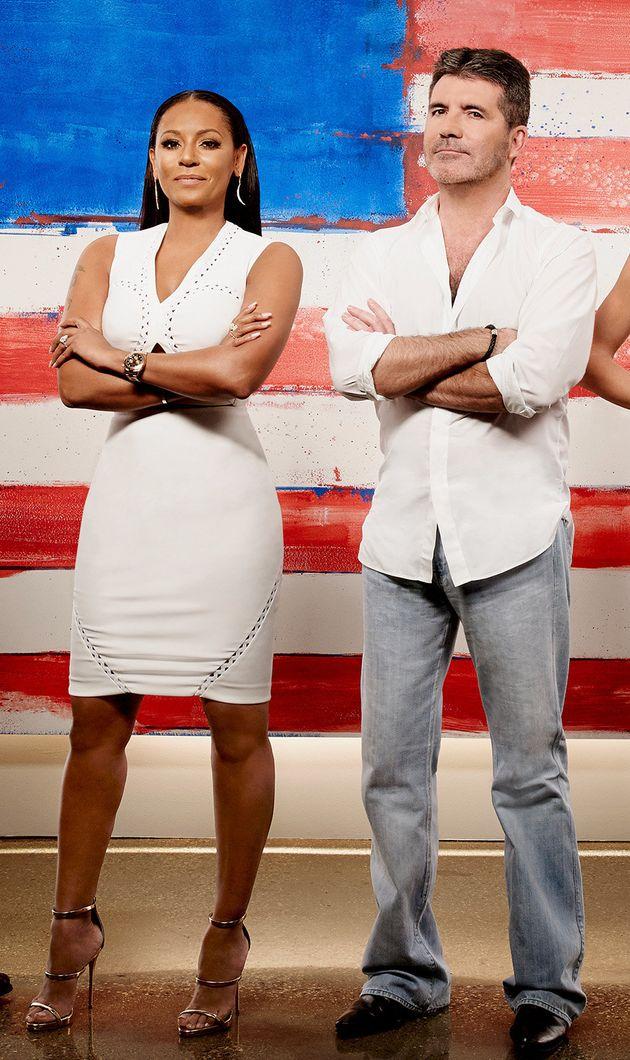 Former Spice Girl Mel B and Simon