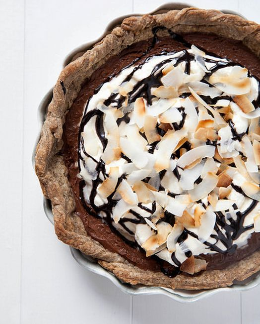 "<strong>Get the <a href=""http://www.annies-eats.com/2014/07/23/mocha-coconut-pie/"" target=""_blank"">Mocha Coconut Pie recipe</"