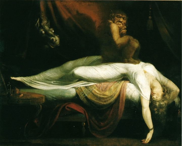 FIGURE 1-16. Henry Fuseli, The Nightmare, 1781. Detroit Institute of the Arts, Detroit.