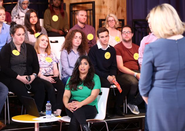 The young audience of a recent EU debate hosted by Buzzfeed and
