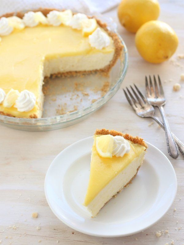 "<strong>Get the<a href=""http://www.completelydelicious.com/2014/03/lemon-mousse-pie.html"" target=""_blank""> Lemon Mousse"