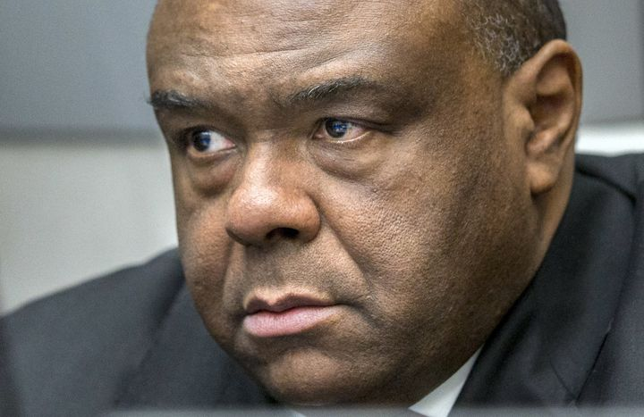 Jean-Pierre Bemba, pictured here waiting for his verdict at the International Criminal Court in March, was sentenced to 18 ye