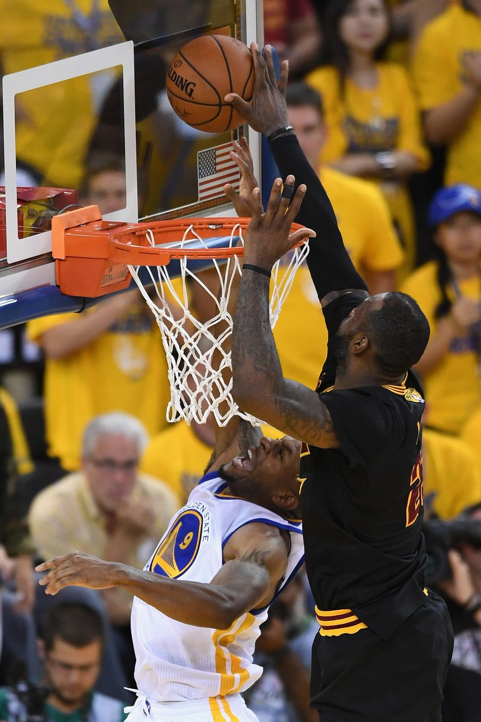 9d985acab09d Every Photo We Could Find Of LeBron James Blocking Shots In The 2016 ...