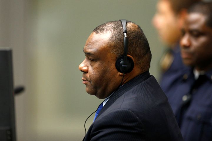Bemba is a former vice-president of Democratic Republic of Congo, and led the Movement for the Liberation of Congo (MLC)