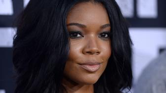 Gabrielle Union attends the Universal Pictures and Legendary Pictures' premiere of 'Straight Outta Compton' at Microsoft Theater on August 10, 2015 in Los Angeles, California.