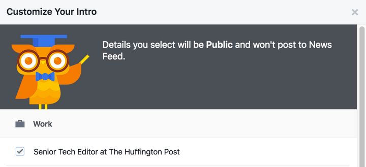 Facebook Just Made A Pretty Awkward Change To Your Profile   HuffPost