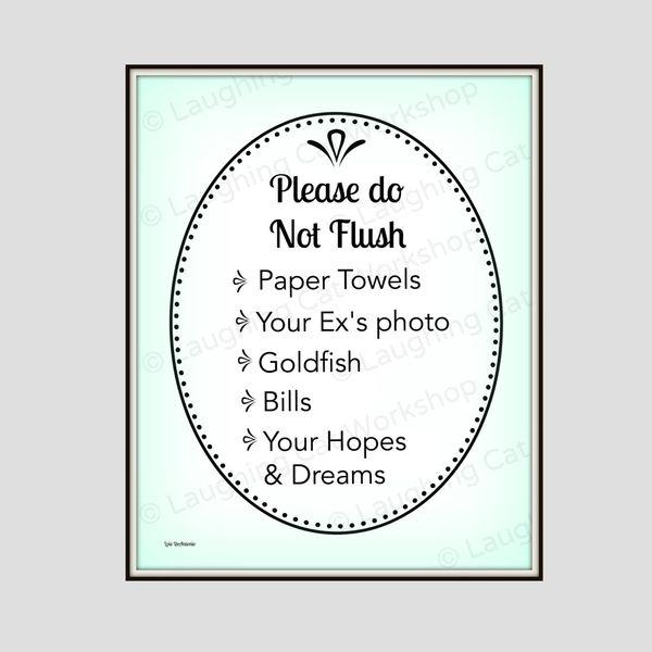 "<a href=""https://www.etsy.com/listing/253833069/funny-bathroom-print-flush-toilet-art?ref=hp_rv"" target=""_blank"">Flush Toilet"