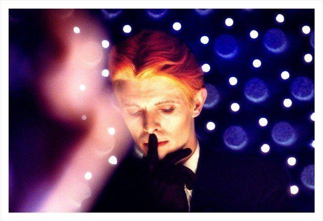 Steve Schapiro, David Bowie, New Mexico, 1975. Courtesy of Monroe Gallery of Photography, Santa Fe.