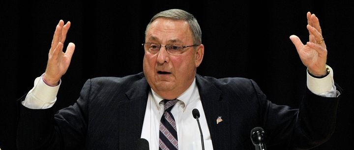 Maine Gov. Paul LePage (R) doesn't want food stamp beneficiaries to buy soda or sweets with their benefits.