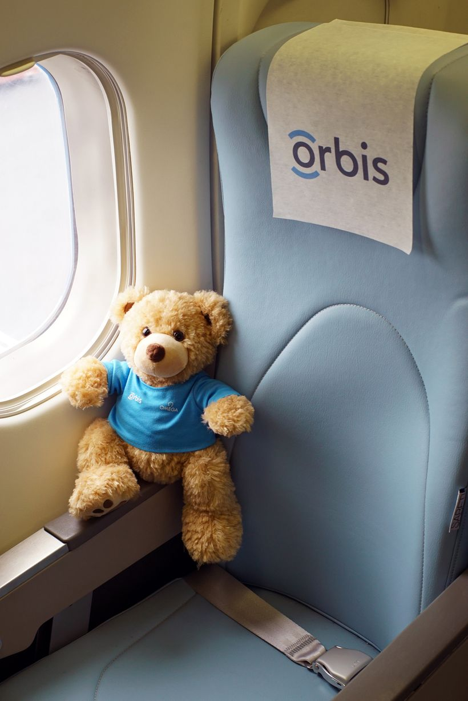 Children love the ORBIS Teddy Bears.